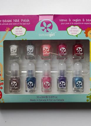 Набор детских лаков для ногтей suncoatgirl