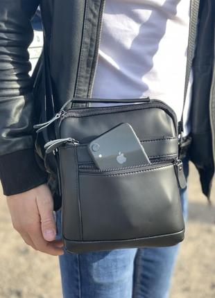 Небольшая мужская сумка на плечо tiding bag