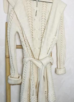 Шерстяная кофта кардиган от laura ashley