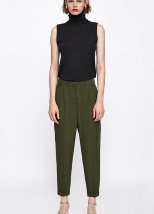 Свободные брюки-чиносы, укороченные штаны