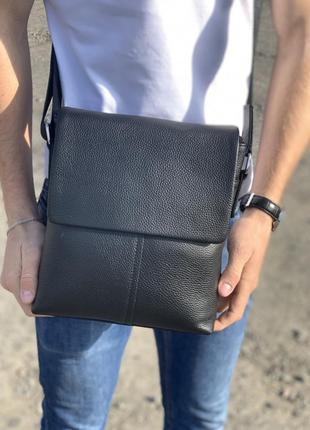 Мужская кожаная сумка от tiding bag / барсетка