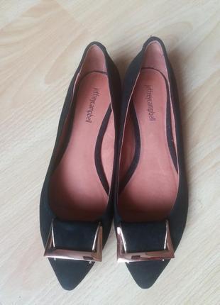 Туфли замша 39р