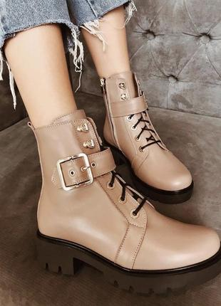Крутые ботинки осень/зима