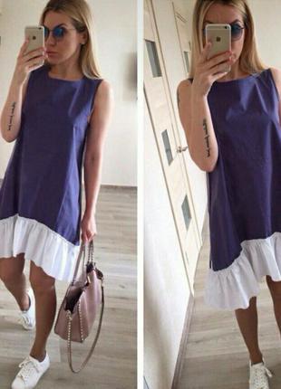 Мега стильное летнее платье