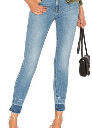 Джинсы скинни ,джинсы с необработанным низом