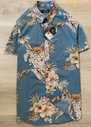 Новенька яскрава чоловіча сорочка від primark