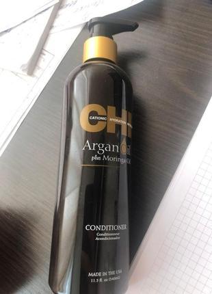 Восстанавливающий кондиционер chi argan oil conditioner 355ml