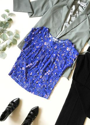 Стильная рубашка-футболка / блуза / блузка next р. 10/м