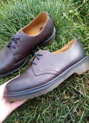 Dr. martens - кожаные туфли, полуботинки