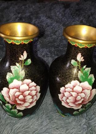 Китайские парные вазы