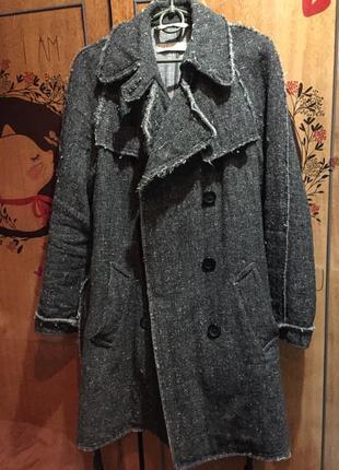 ✅100% натуральное шерстяное пальто