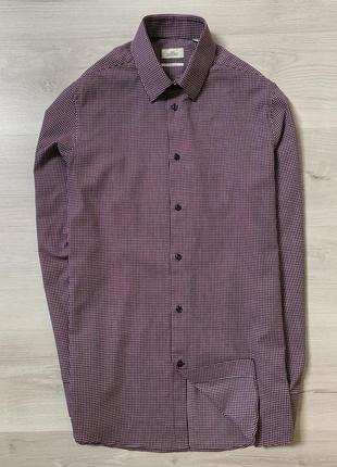 Новенька чоловіча сорочка від next shirting slim fit
