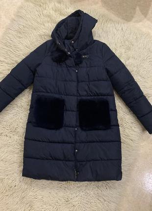 Пальто пуховик зима италия