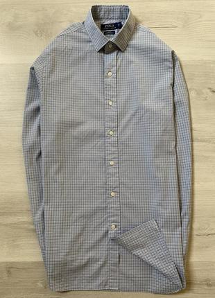 Оригінальна чоловіча сорочка від polo ralph lauren slim fit