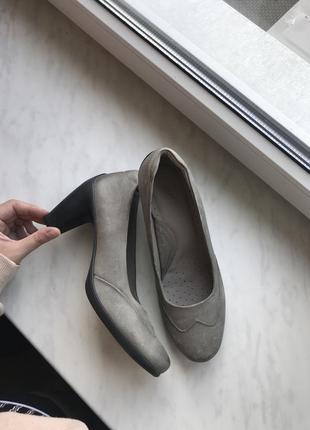 Туфлі шкіряні ecco