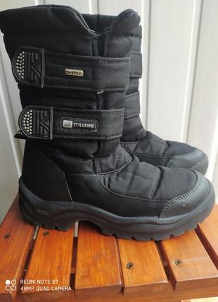 Сапоги чоботи stylgrand