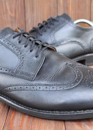 Туфли borelli кожа италия 47р броги