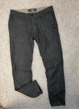Стильные мужские брюки h&m 31 в отличном состоянии