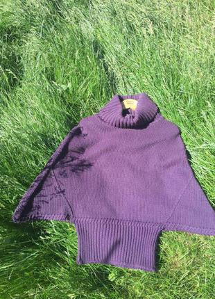 Уютный свитер/пончо от sisley