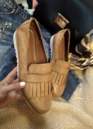 Лофери туфли лодочки балетки чешки