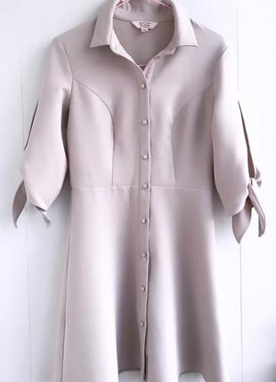 Роскошное платье блуза с красивыми пуговицами missselfridge xs-s