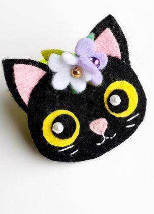 Резинка для волос - котенок