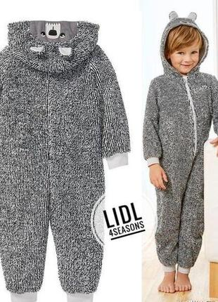 Плюшевая пижама,человечек lupilu германия