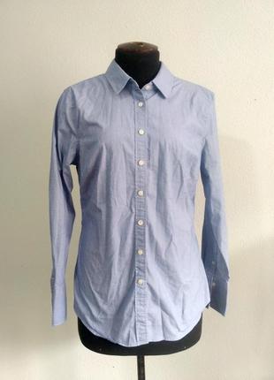 Классическая базовая рубашка прямого кроя