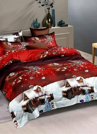 Детское новогоднее постельное белье