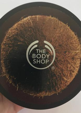 Масло/баттер для тела the body shop (coconut)