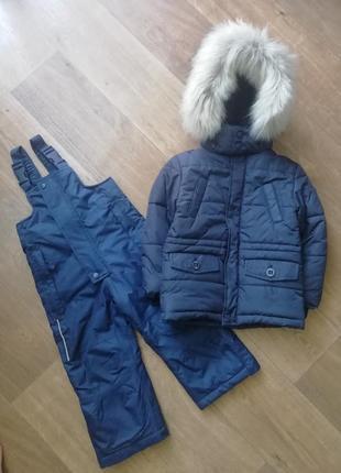 Зимний термо комплект: куртка, курточка, пуховик, комбенизон, комбез,
