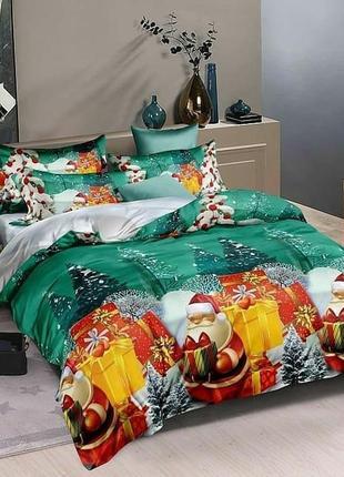 Новогоднее детское постельное белье