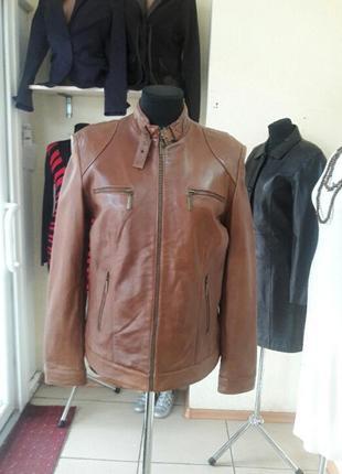 Куртка женская, натуральная кожа, бренд tchibo tcm, гепмания.