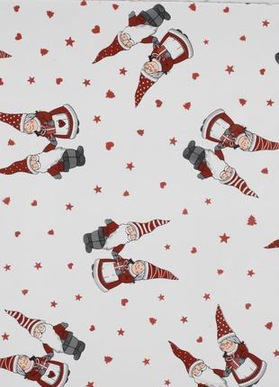 Праздничная новогодняя  скатерть - клеенка