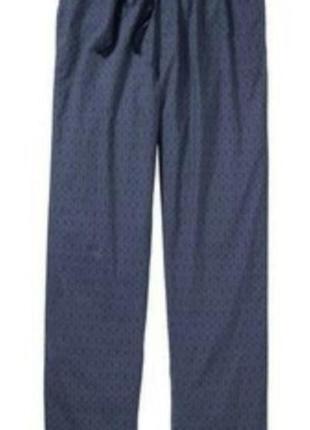 Пижамные штаны livergy xxl хлопок. штаны для дома