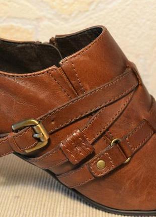 Р40 италия,janet d,100%натуральная кожа! изысканные,комфортные ботинки туфли ботильоны