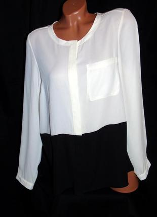 Atmosphere шикарная двухцветная блуза - xxl - xl