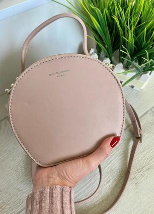 Пудровая сумочка кругляшка