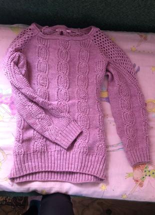Теплий в'язаний светр