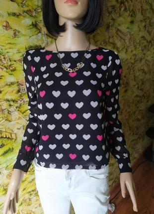 Укороченная блузка в серден