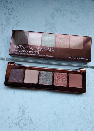 Тени natasha denona mini zendo palette