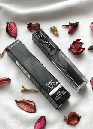 Новый полноразмерный 6 ml блеск для губ givenchy gloss interdit revelateur 16 noir блеск