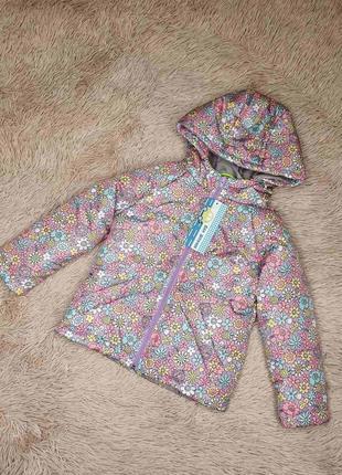 Куртка для девочки демисезонная , рост 80-140 см
