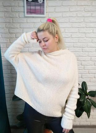 Шикарный свитер кокон оверсайз