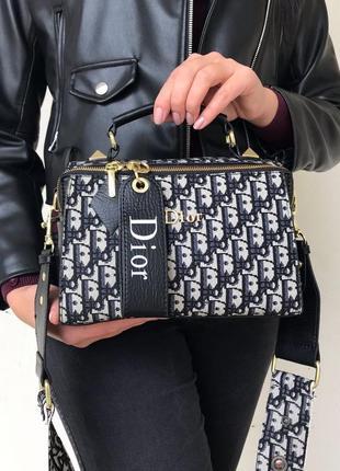 Брендовая сумка чемоданчик саквояж монограмм текстиль
