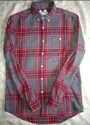 👍👍👍классная тёплая  стильная мужская рубашка английского бренда