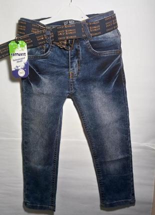Новые джинсы на мальчика 6-7лет