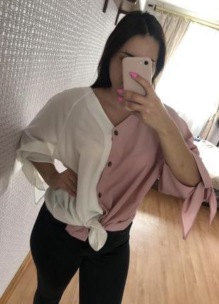 Блузка блуза рубашка стильная модная