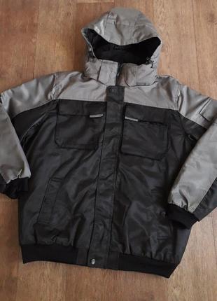 Утепленная рабочая профессиональная куртка, спецодежда powerfix германия размер 54