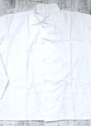 Поварской жакет одежда для повара, большой размер xxxl